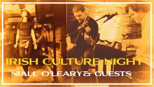 Niall O'Leary's Irish Culture Night