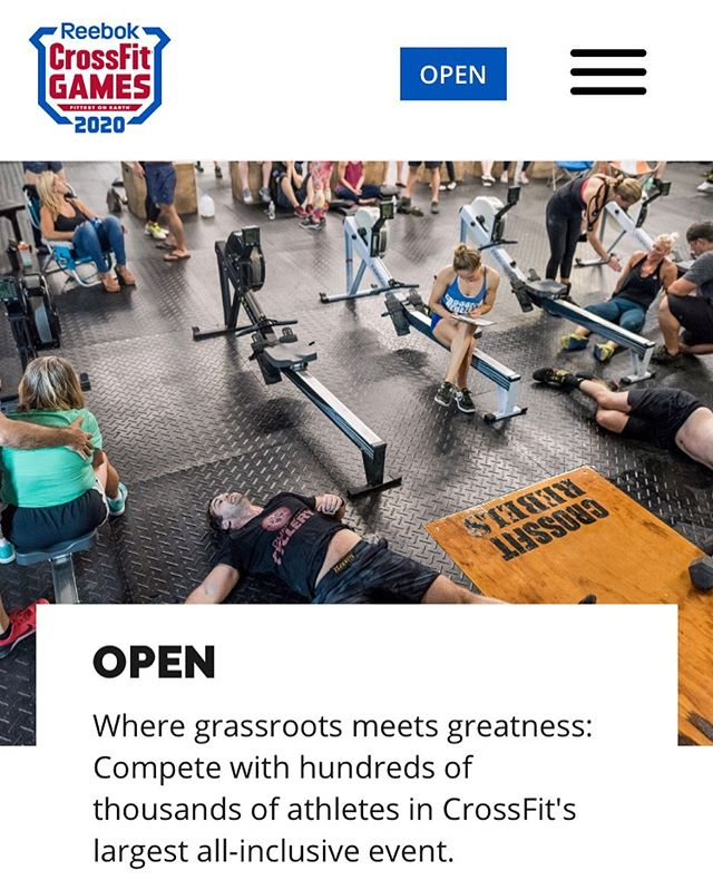 The #crossfitopen starts next week! We'll be hosting the first workout on Saturday, October 12th. Register at games.crossfit.com, then reserve your spot at POP 💪🏻 Who's in?!