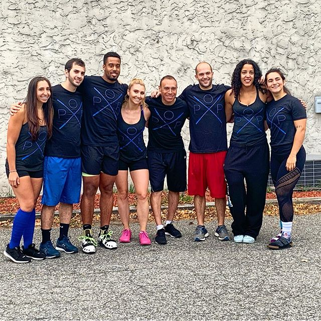 That's a wrap! Congrats to our Crossfit Pop crew who threw down at #WestchesterFitnessFestival. We are so proud of all of our athletes that competed today! Thanks to @northeastcrossfit for hosting another great event. Until next year ✌️💙💛🏋🏼‍♀️🍩💪🏻 #CrossfitAthletes #ProudCoaches #CrossfitCommunity #Strength #Endurance #Gymnastics #Synchro #Relay #Chaos #NoMatterWhatApparel #ChalkMonster #FitAid #PawsCrossed #Crossfit #FunctionalTraining #Nike #Reebok #WestchesterCounty #ConstantlyVaried #HighIntensity #Gainz #OlympicLifting