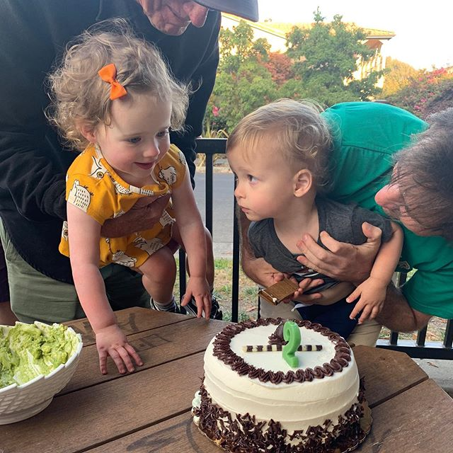 And then those 2 turned 2! Happy Birthday Jaime & Desmond ❤️❤️