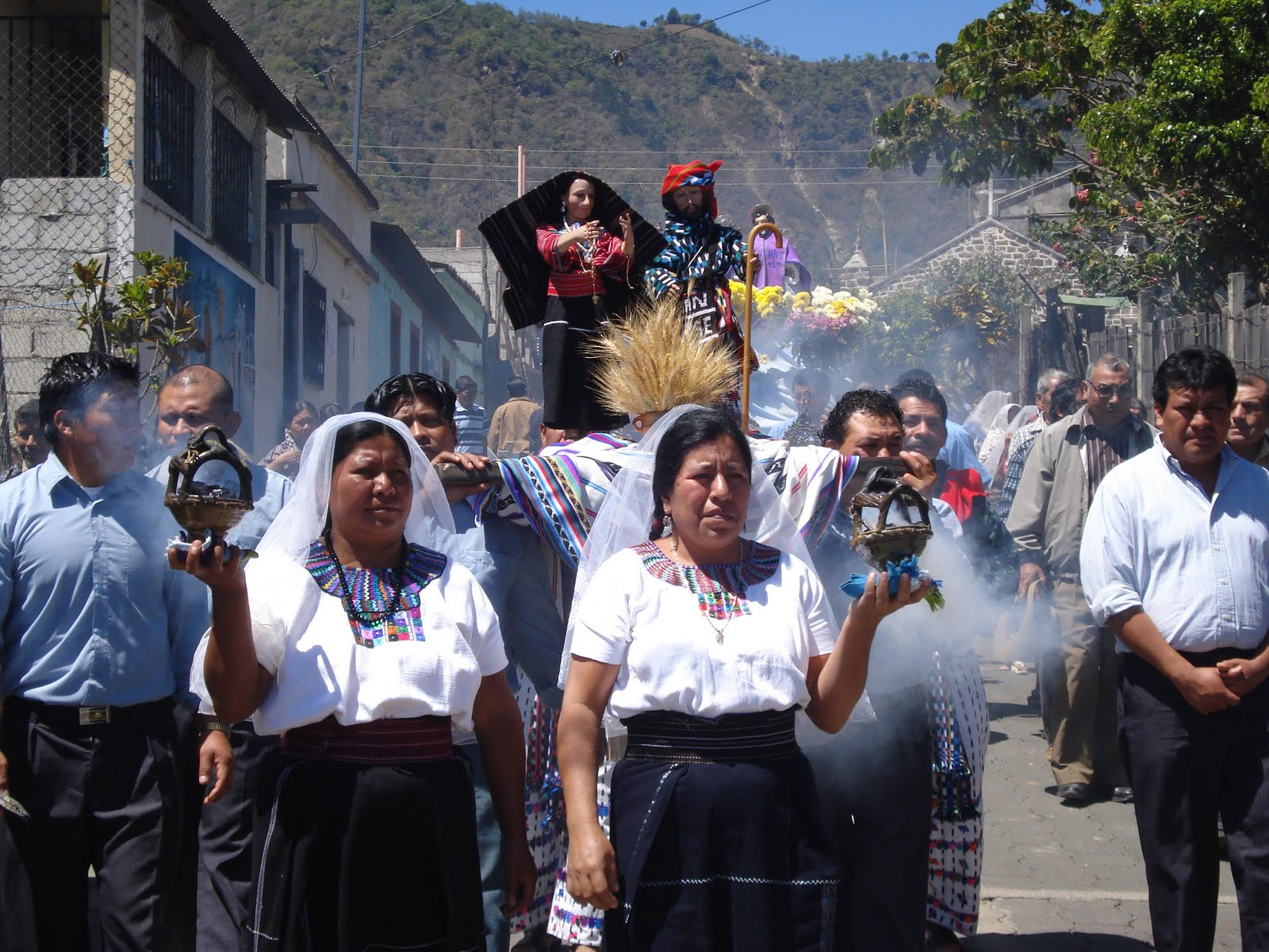 Religious procession in San Juan