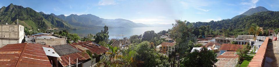 A view of San Juan overlooking Lake Atitlan