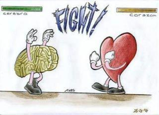 "The way you know you've made the right decision is because your heart and mind are on the same page about your choice but most times,  the heart and mind are always in a tug of war.     Regardless of who wins, the loser is going to hurt which causes you to feel discontentment over the choice you've made.    Let's take a look at how the heart and mind interact in a tug of war:   ""I love him but the smart thing to do is leave. It's going to hurt me to leave him...but to stay would be crazy"".   ""I have been in the same job that I don't like for almost 20 years. I don't want another job. I prefer to be my own boss making homemade ceramics but if I follow my heart, how will the bills get paid"".  ""I really REALLY want to buy this brand new car but my loved one needs this money really bad. I already have a car and it runs just fine but I deserve to do something for myself"".   ""I do want to keep this baby but I don't want him to leave me"".   On any level, serious or simple, can you see how the heart and mind always combat each other?   One way or the other there has to be a loser, right? WRONG!   There is only one way to stop the heart and mind (which are brother and sister) from fighting.   Picture this:  There are  two siblings (brother and sister) having a fight  in the middle of the street on their way home from school.  The cars honking does not stop them.  The friends saying, ""Don't fight your brother"" or ""Don't fight your sister"" does not stop them either.  Neither does the sound a vicious dog barking at all the noise stop them BUT then there's a deep  voice that simply says, ""STOP FIGHTING""  and immediately the kids cut it out.  To their surprise,  it's good ole' Dad  and they know he means business. They never say a word to Dad nor each other nor the people surrounding them.   They automatically stop fighting and silently get in the car because they understand that he is in charge.   This is the same thing that happens when you talk with your Heavenly Father about what to do.    Go ahead and tell Him the brain's side and the heart's side.  He's not surprised by what you feel or think because He already knows, so be honest with Him.   Ask Him who should you side with in order to remain comfortable with the decision made.   You see, when God is included in your decision, there's no way you can make the wrong choice. The way to know for sure that you're following God's instructions is that His instructions always line up with love and life...never hatred, death, malice, envy, jealousy, spite, etc.   Even if you don't understand why you have to go the way you're going, you can rest assured that it's the right thing to do AND you can rest assured that you'll never have to take this same route again because God told you what to do and that settles the issue.    There may be tears  because of your choice,  there may be anxiety  because of your choice, your choice  may cause frustration , and maybe even cause loved ones to ...well..not act so lovely toward you  BUT YOU WILL HAVE PEACE  because you trusted the ONE who wrote the plan for your life, the ONE who has the whole Heavens and Earth in His hand, t he ONLY ONE WHO CAN SETTLE A DISPUTE BETWEEN THE HEART AND MIND.  Be at peace and trust in the Lord with all of your heart. Don't just take matters into your own hands but in everything you do, talk to God, and He will direct your path.    #LoveWillKeepUsTogether #MyHeartsSayOneThing #MyMindSaysAnother #CaughtInBetweenTheTwo #CantDecide #NoClueWhatToDo"