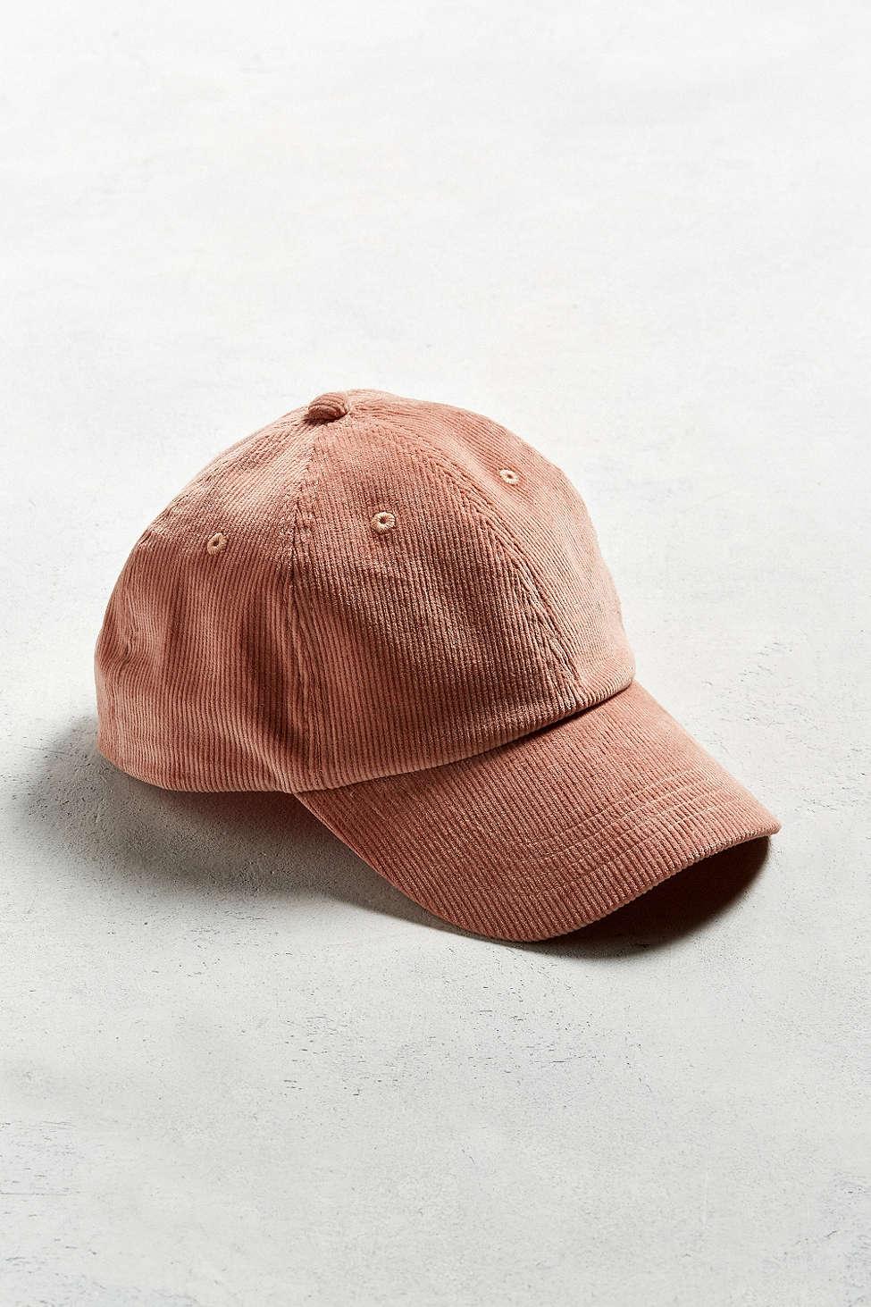 blush baseball hat