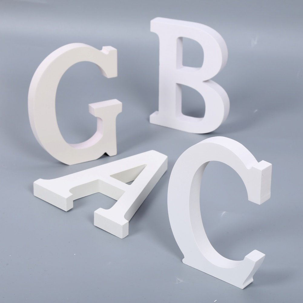 Peyan 26 Letter Thick Wood Wooden Alphabet