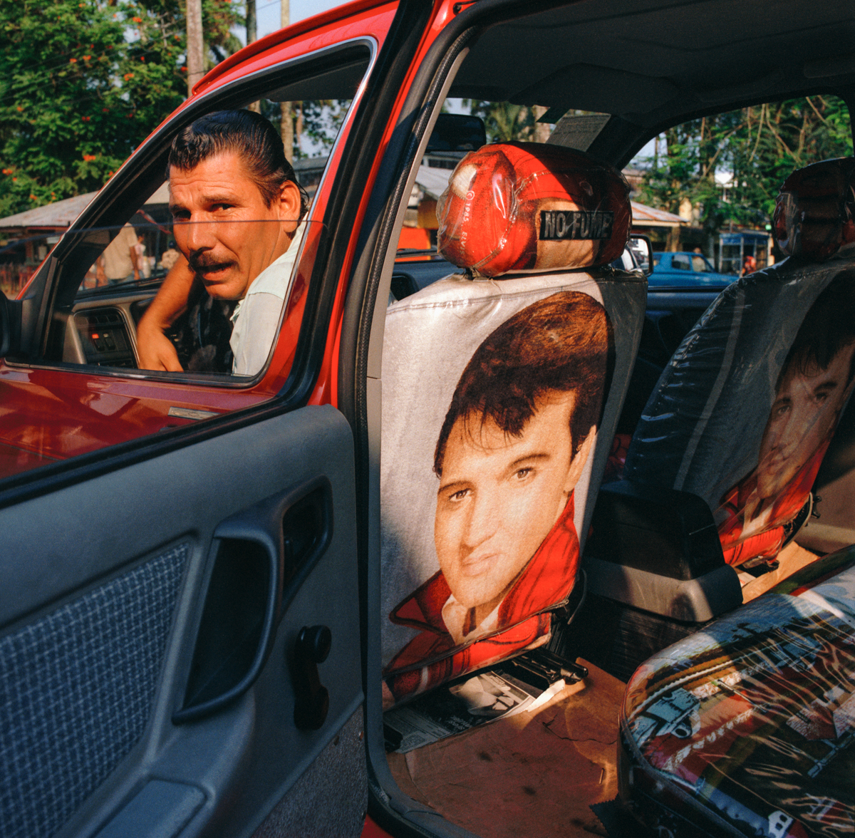 Elvis Taxi, Limón, Costa Rica 1986