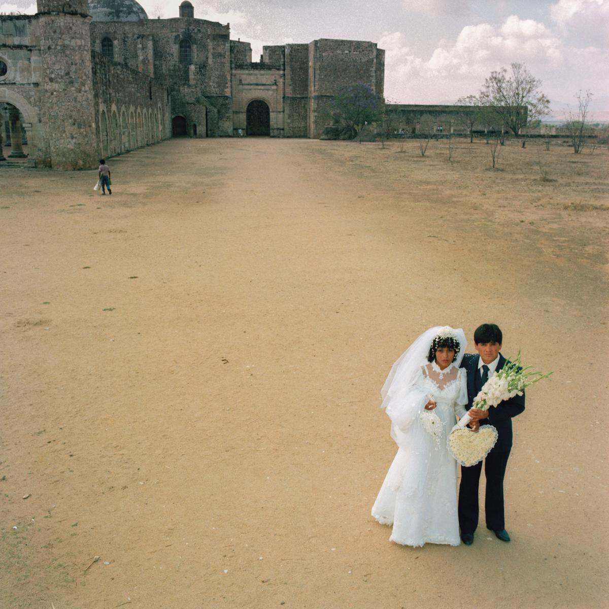 Wedding, Oaxaca, México 1985