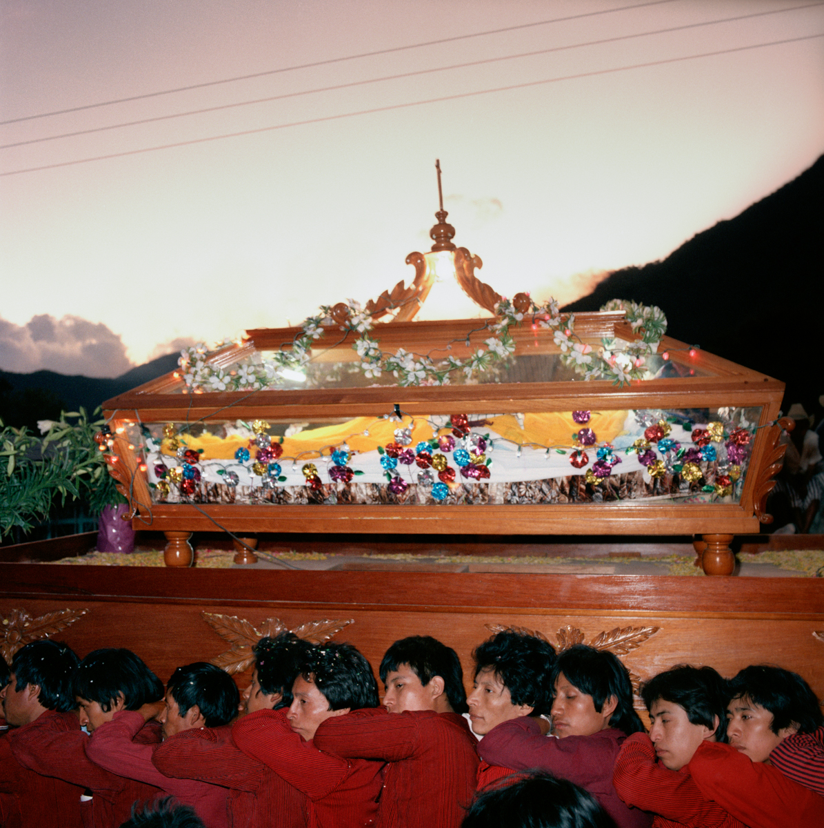 Easter Procession, Santiago Atitlán, Guatemala 1986
