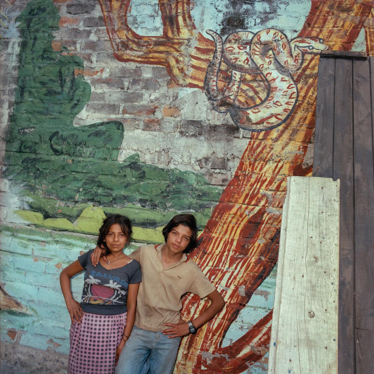 Homeless Couple, El Salvador 1987