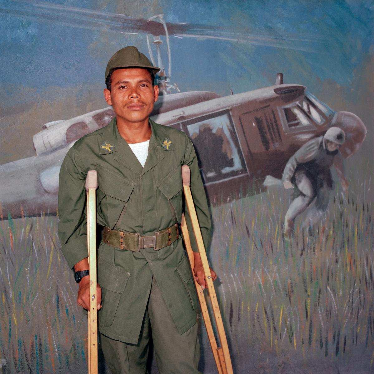 Paratrooper, El Salvador 1986