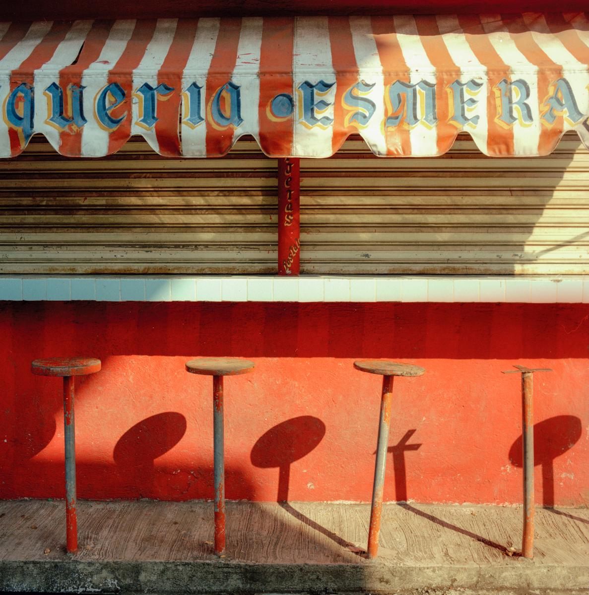Taco Stand, México 1986