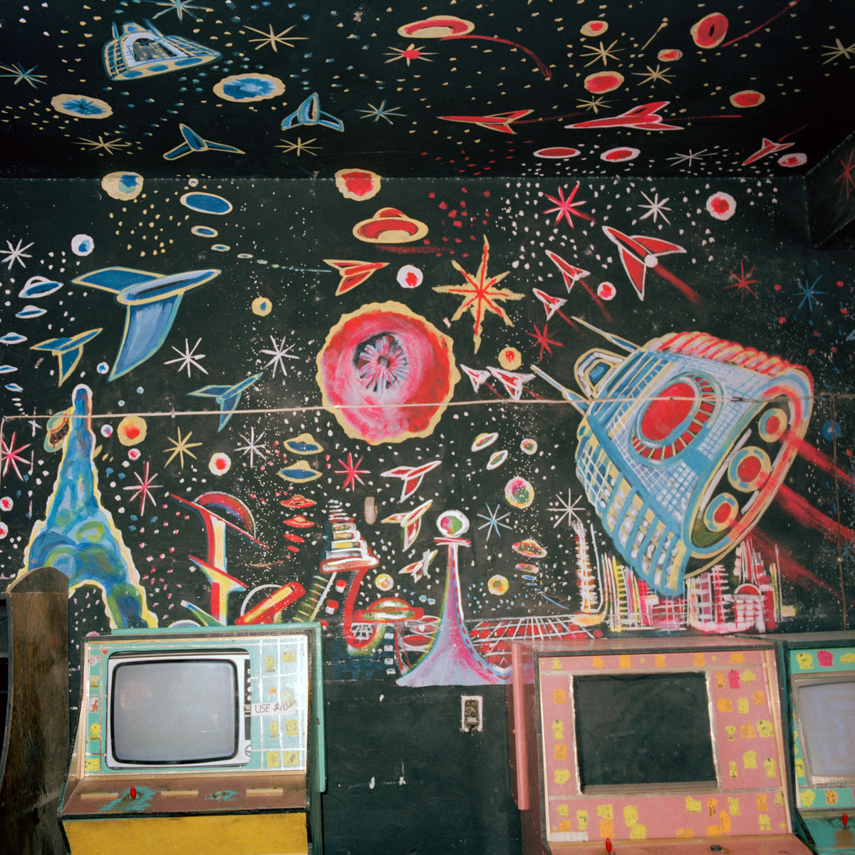 Games Arcade, Juchitán, Oaxaca, México 1986