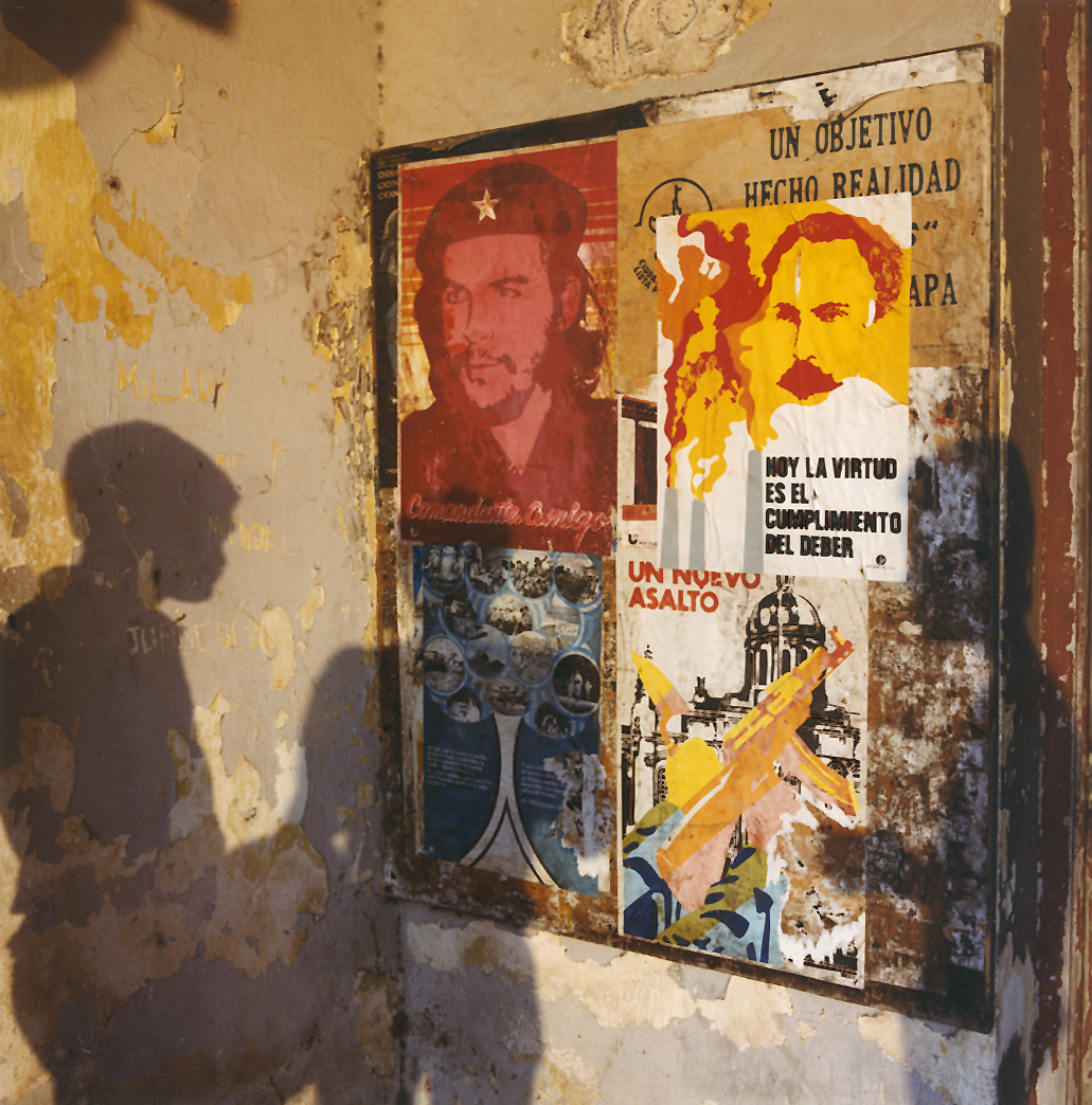 Building Entrance, Havana, Cuba 1989