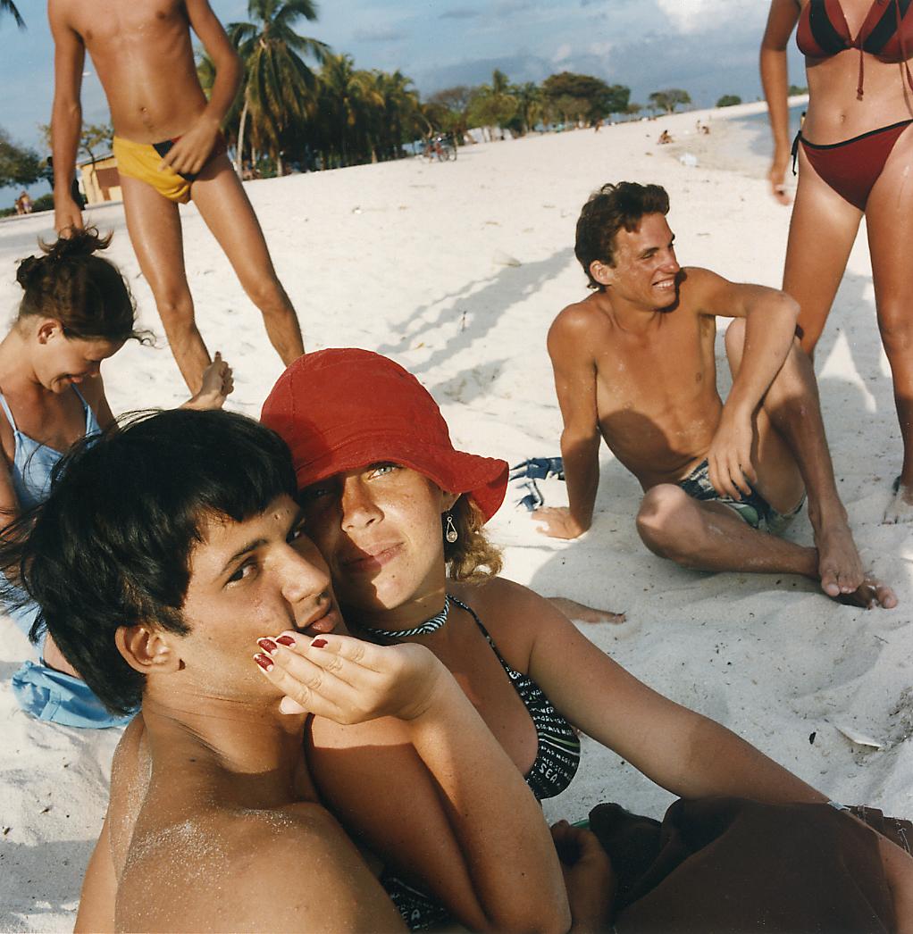 Couples on the Beach, Trinidad, Cuba 1990
