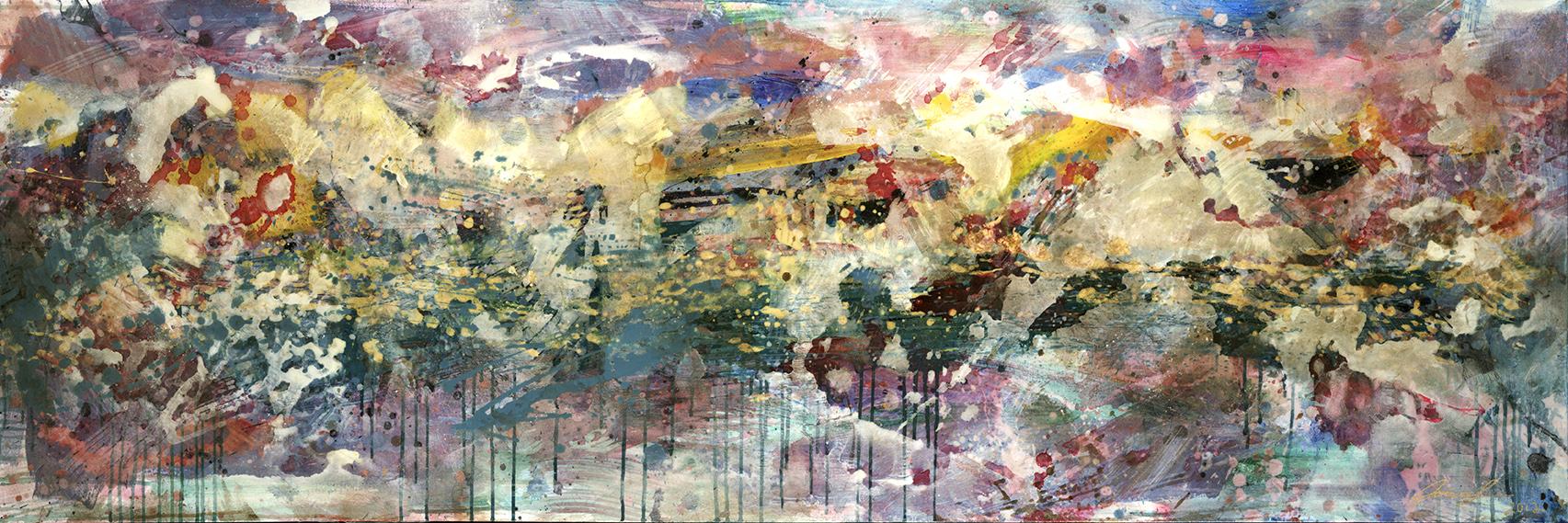 #44  2012 abstract horizon  Sold