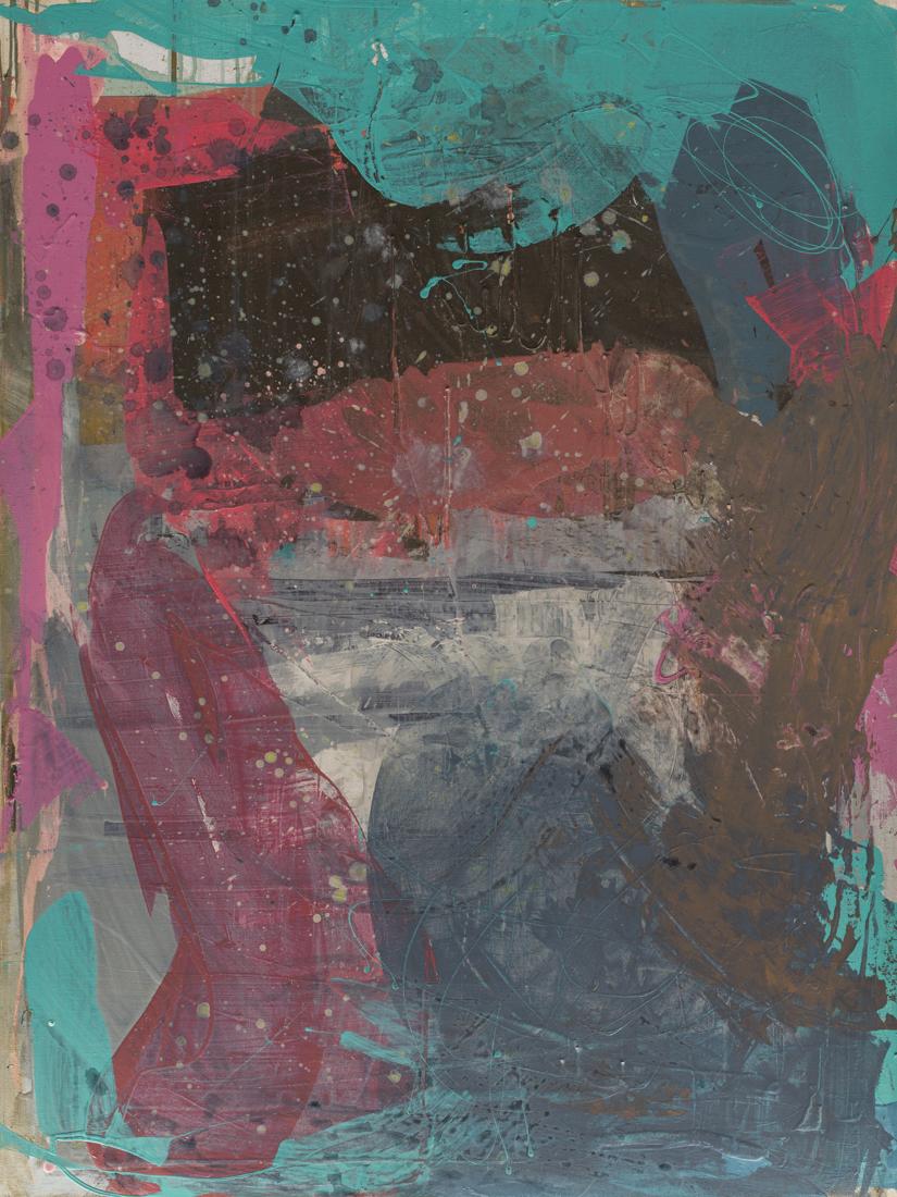 """#175 2017 acrylic on canvas 36""""x48"""" $4700"""