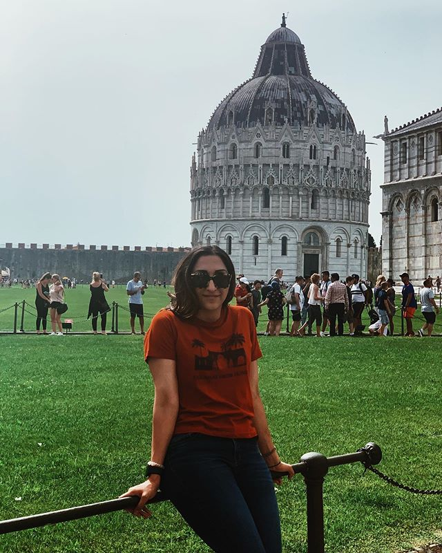 After Venice we stopped by Pisa! You can't go to Italy and NOT stop by Pisa. 🇮🇹