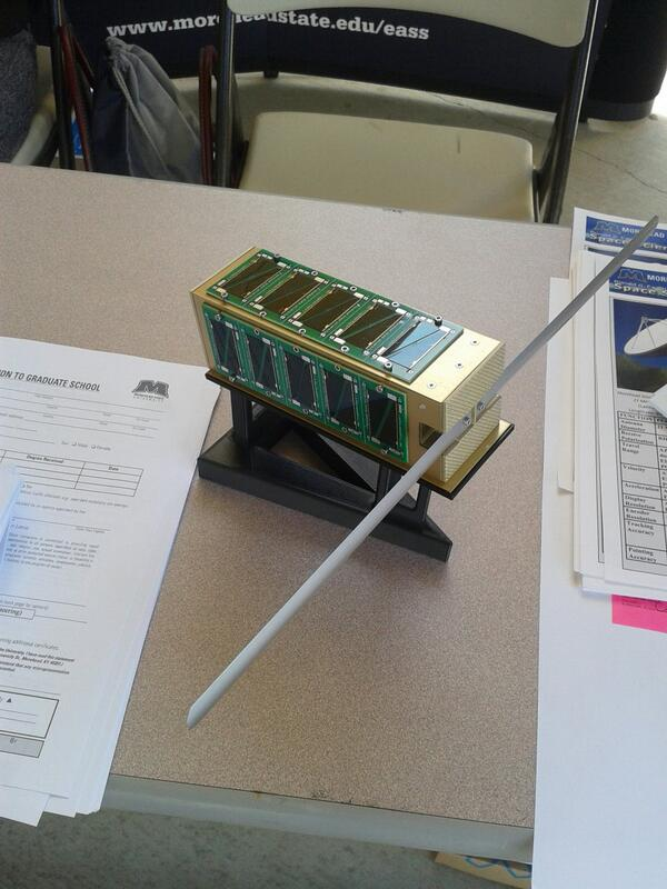 Model of T-Logoqube on display at the MSU Table