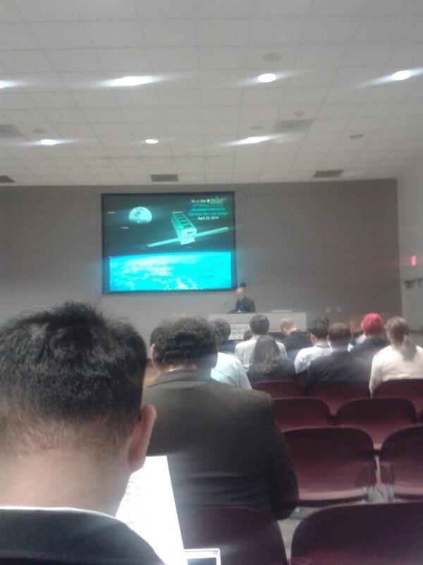 Dr Jernigan talking T-LogoQube