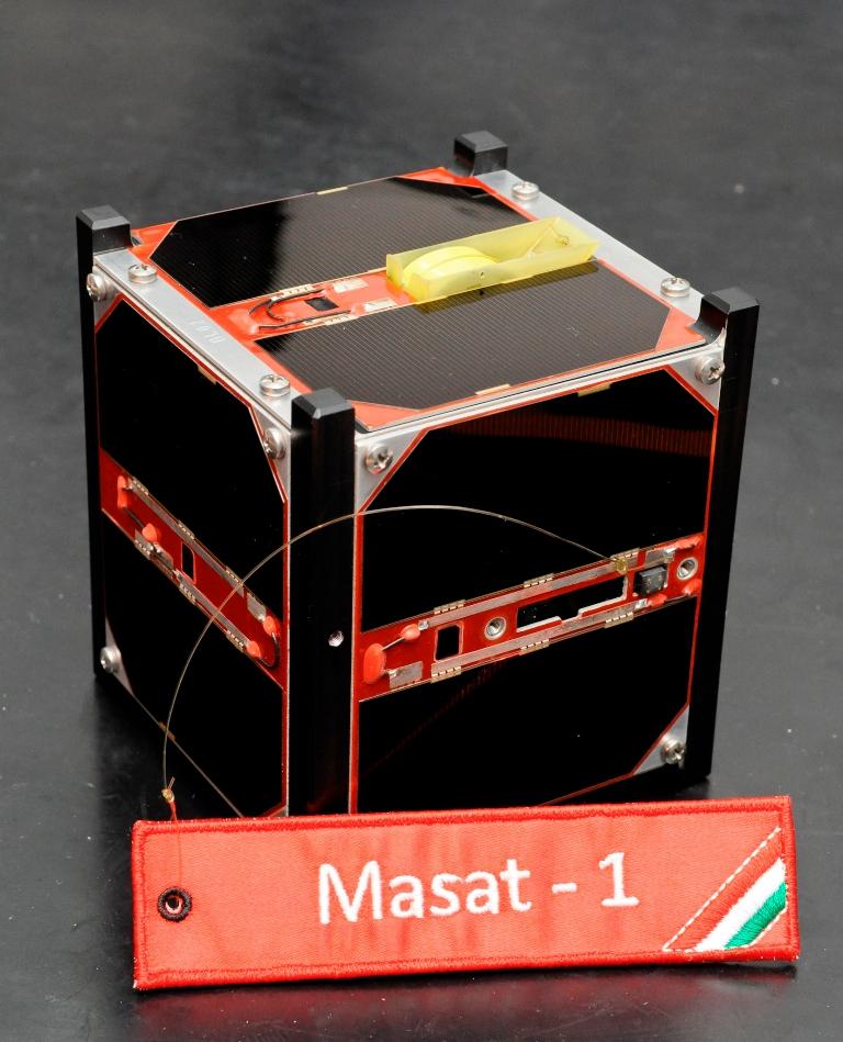 Masat-1: 1U Cubesat now in orbit