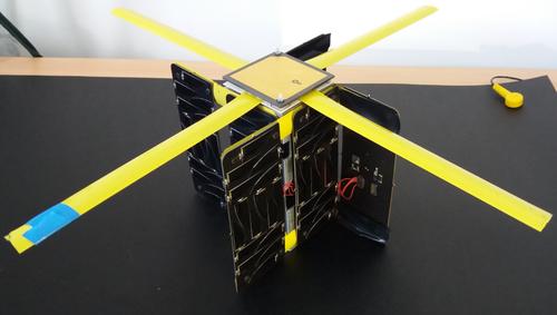 Unicorn-1 IOD/IOV platform, credit Alba Orbital
