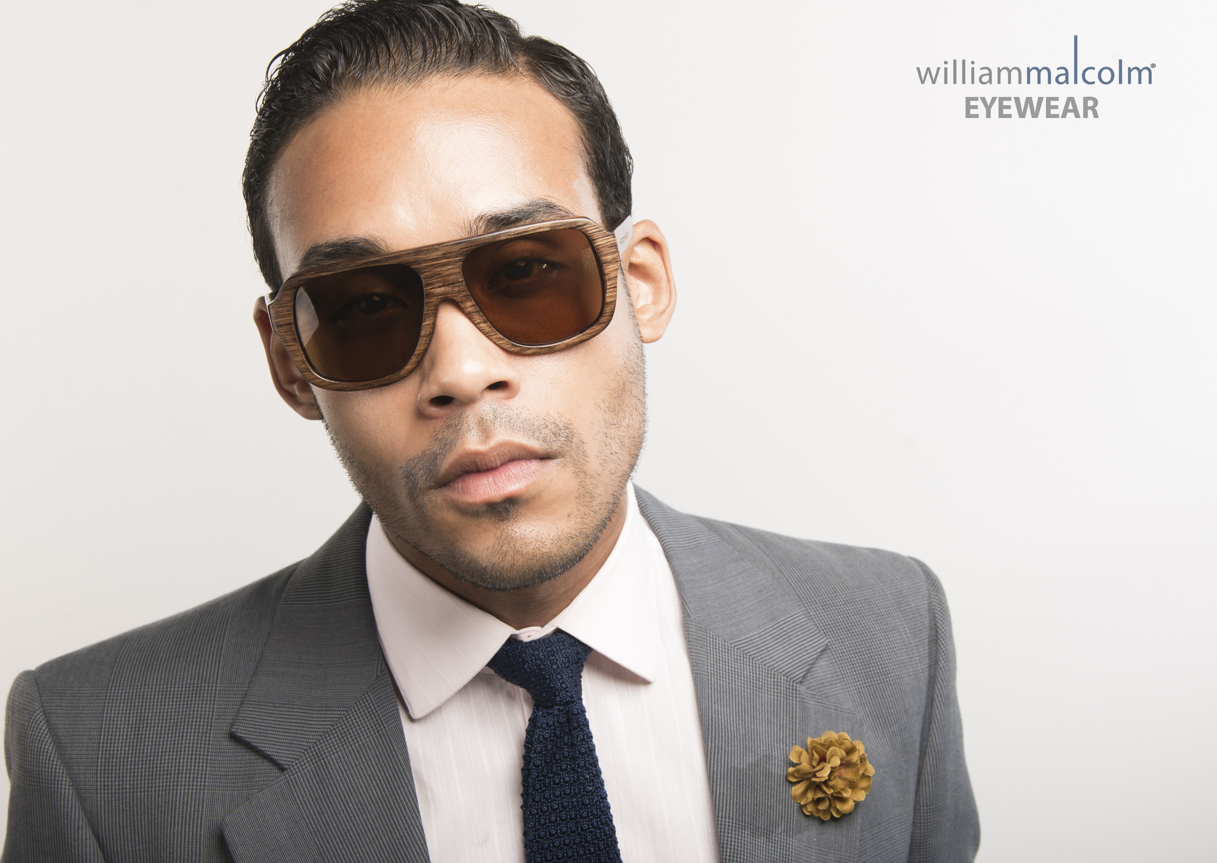 William Malcolm Luxe Collection Bespoke Custom Suit Eyewear