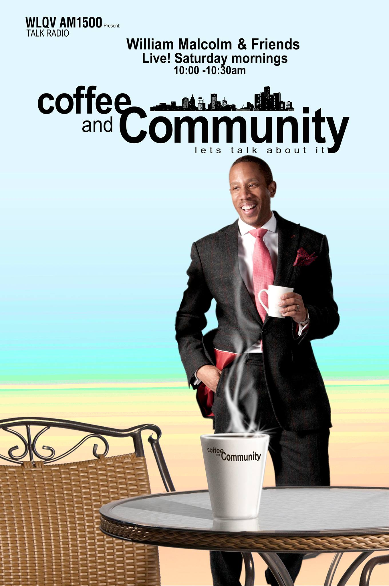 William Malcolm Detroit Designer Starts Coffee And Community Radio Show in Detroit