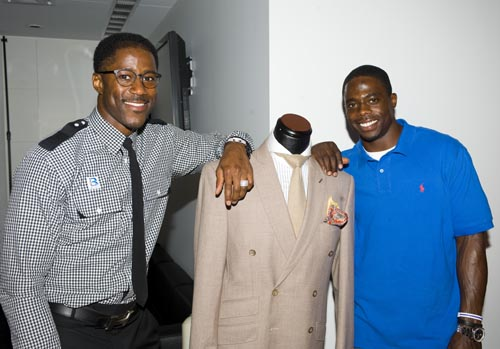 William Malcolm Luxe Collection  Nate Burleson & Aston Martin
