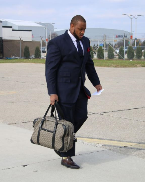 William Malcolm Luxe Collection For Rob Sims Of The Detroit Lions.