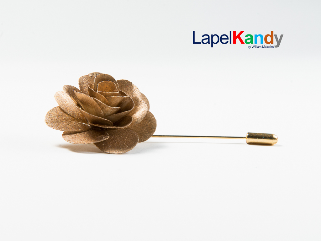 In nature, flowers are very similar yet each hold individual characteristics no two are alike. The same is true of  the William Malcolm Luxe Collection  Lapel Flower Line called Lapel Kandy. Each flower is meticulously hand cut and assembled to the most Luxe specifications. www.LapelKandy.com