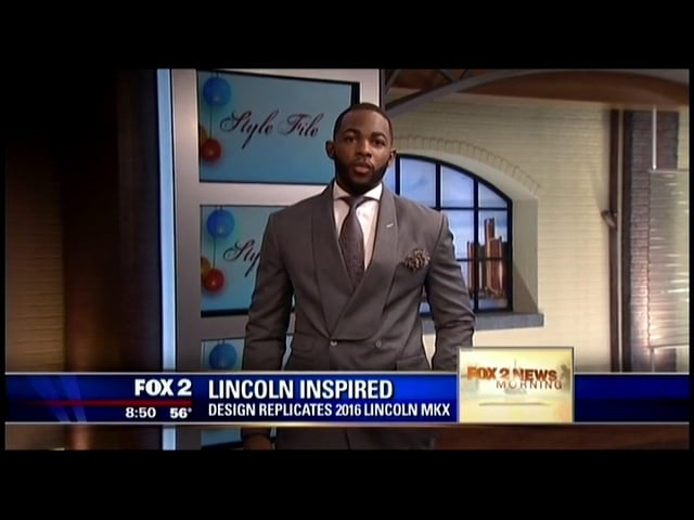 William Malcolm Luxe Collection Inspired By Lincoln Black Label MKX