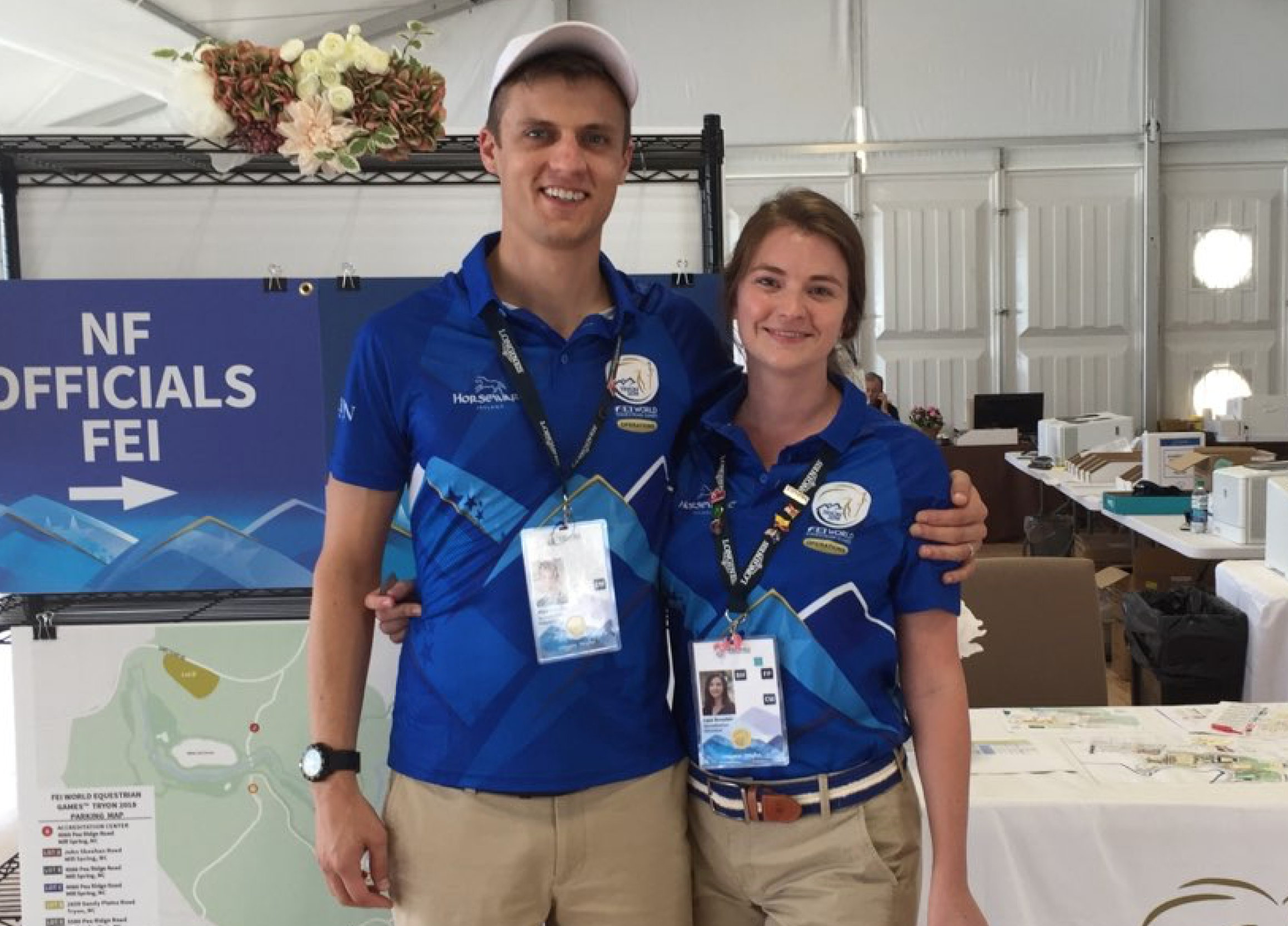 Happy WEG Volunteers September 2018