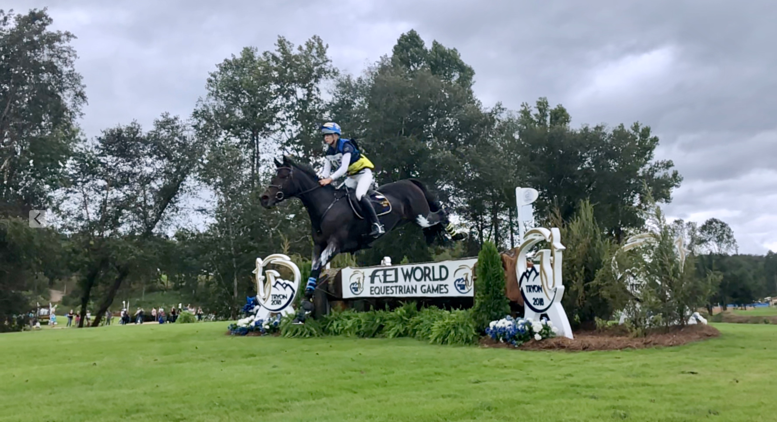 Tryon 2018 FEI World Equestrian Games: Eventing Cross-Country Phase September 15, 2018 (© 2018 Cara Brewton)