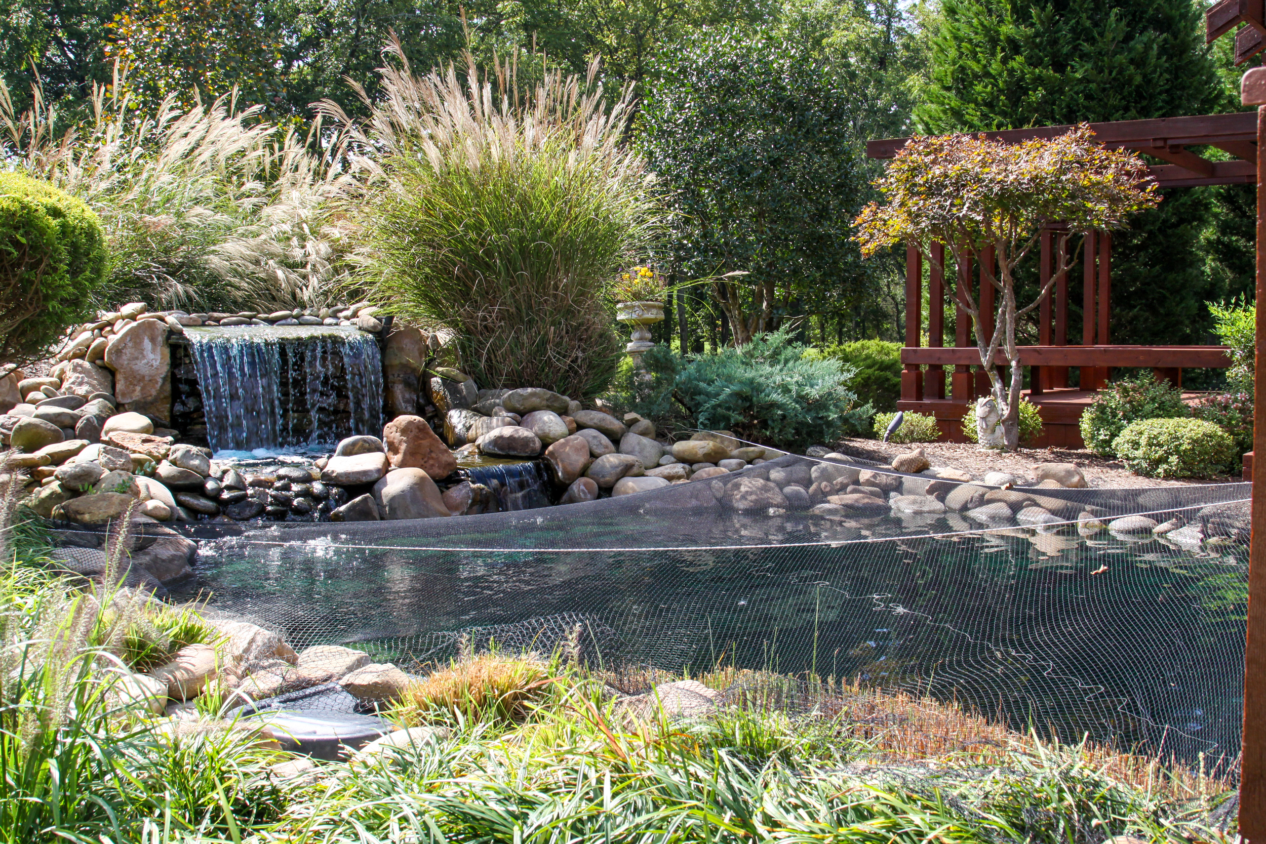 Waterscapes, Hardscapes and Planting