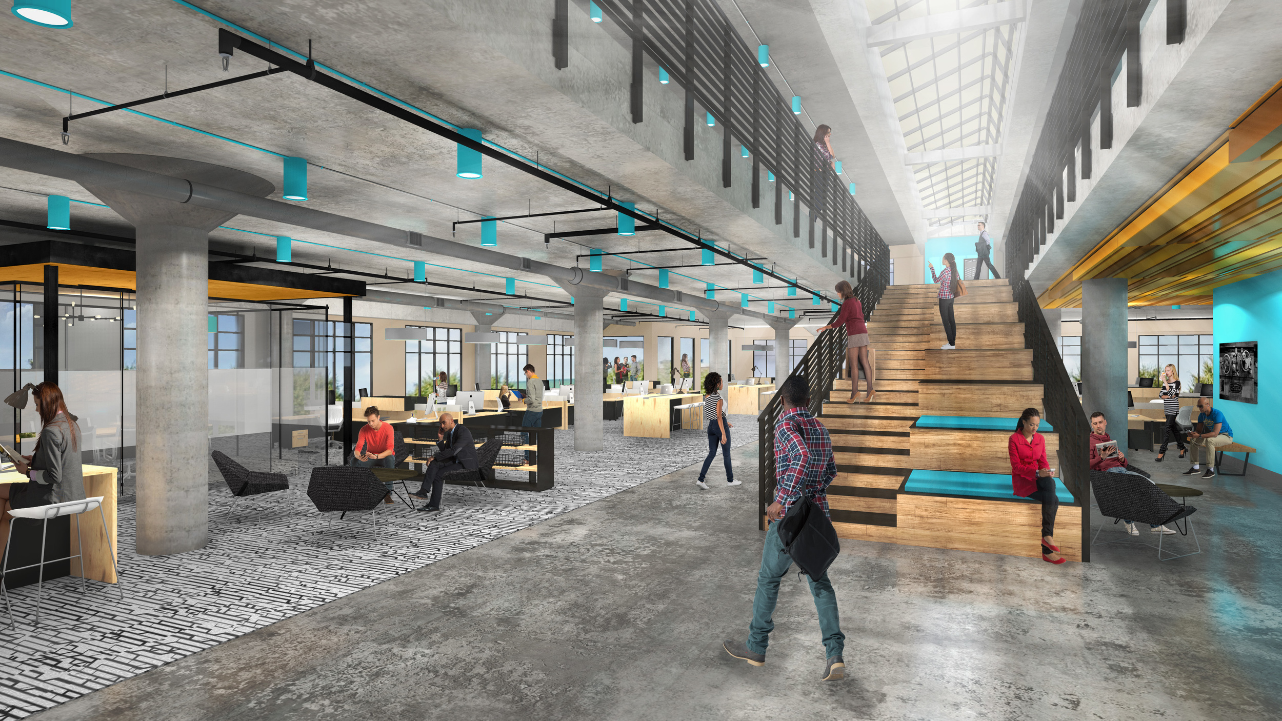 The Foundry is designed to attract the creative class and businesses looking for an alternative to Downtown Austin.