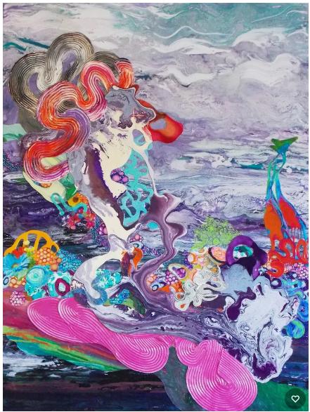 Kimber Berry, Step Off My Cloud  , 2015-2016,Gallery Elena Shchukina
