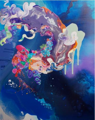 Kimberly Berry, I Think My Guardian Angel Drinks, 2015-2016, Gallery Elena Shchukina