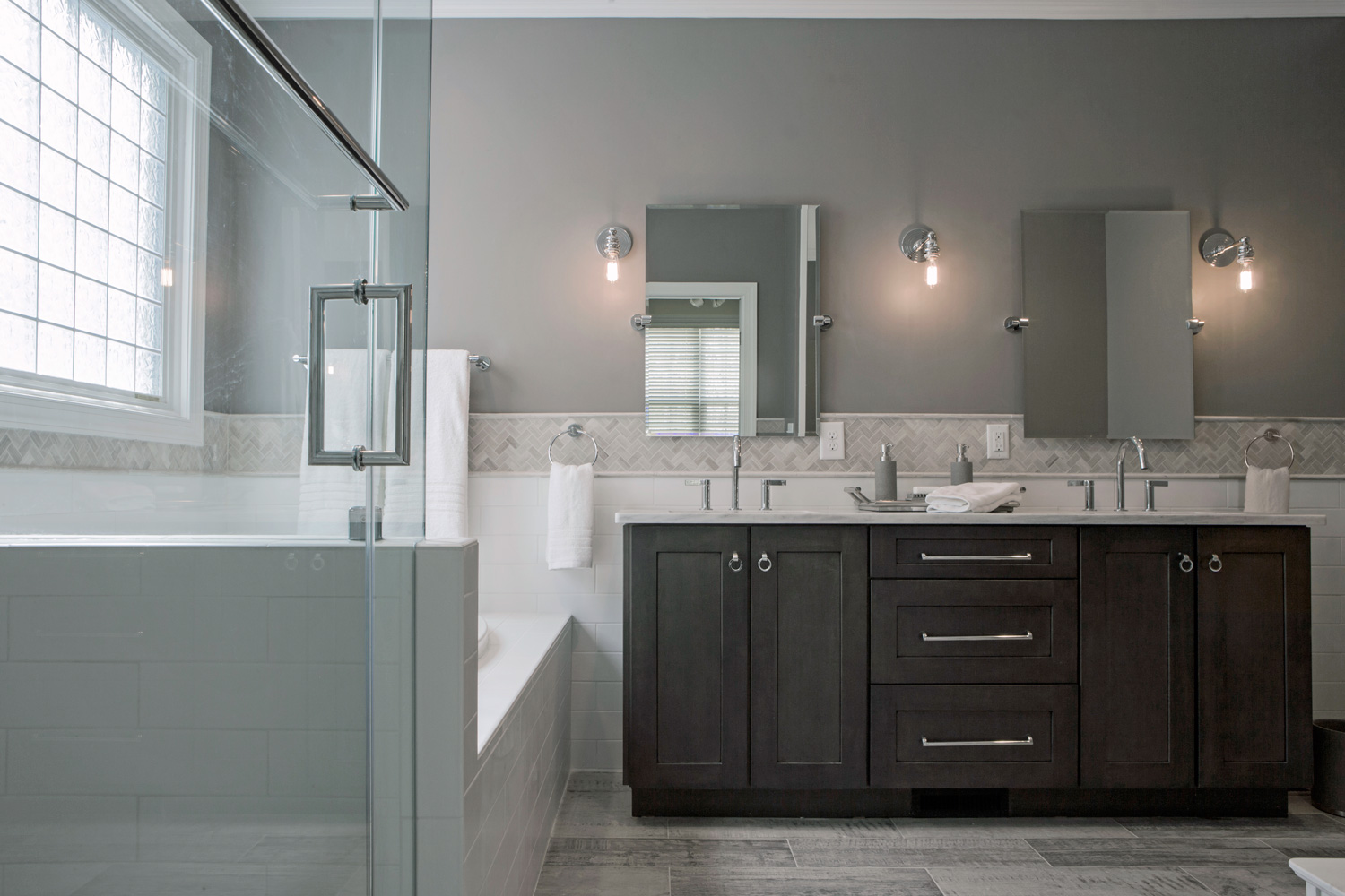 Neutral and Warm Tones are What's Trending in Bathroom Interior Design for 2015