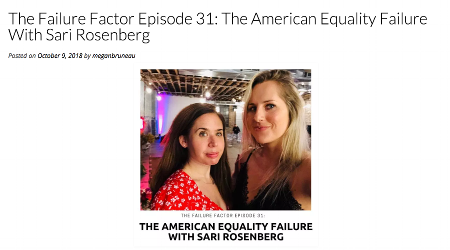 "In this special episode, Megan sits down with her good friend and sociopolitical expert Sari Rosenberg to clarify myths around feminism and how it relates to sexual assault, dating, body image and eating disorders, and more. If you want to participate in the conversation but feel under-resourced, are curious or skeptical about the movement, or want to know how not to be a ""white feminist,"" this is a great place for listeners of all genders to start."
