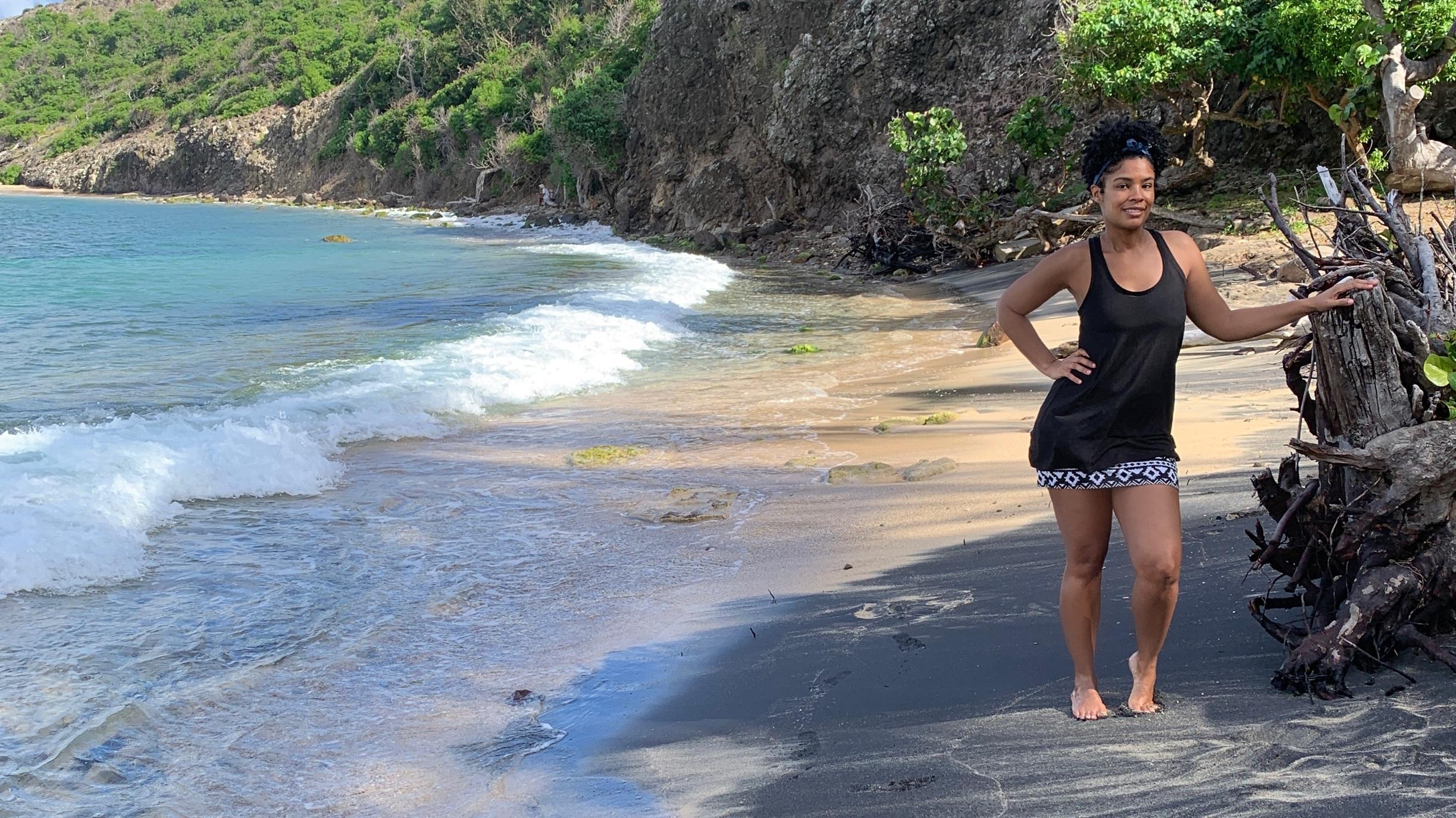 Petit Anse Beach in Guadeloupe