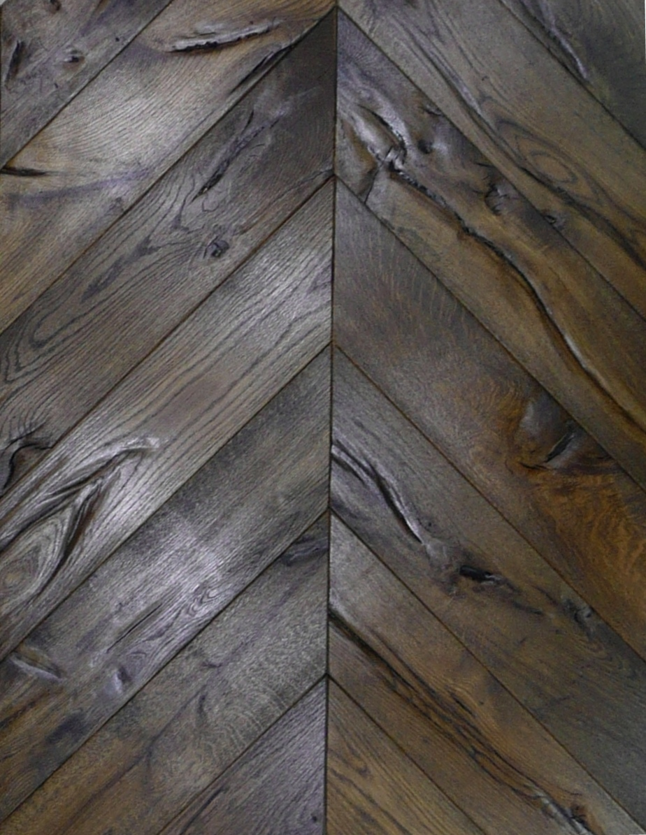 Chevron - Antique Black Oiled