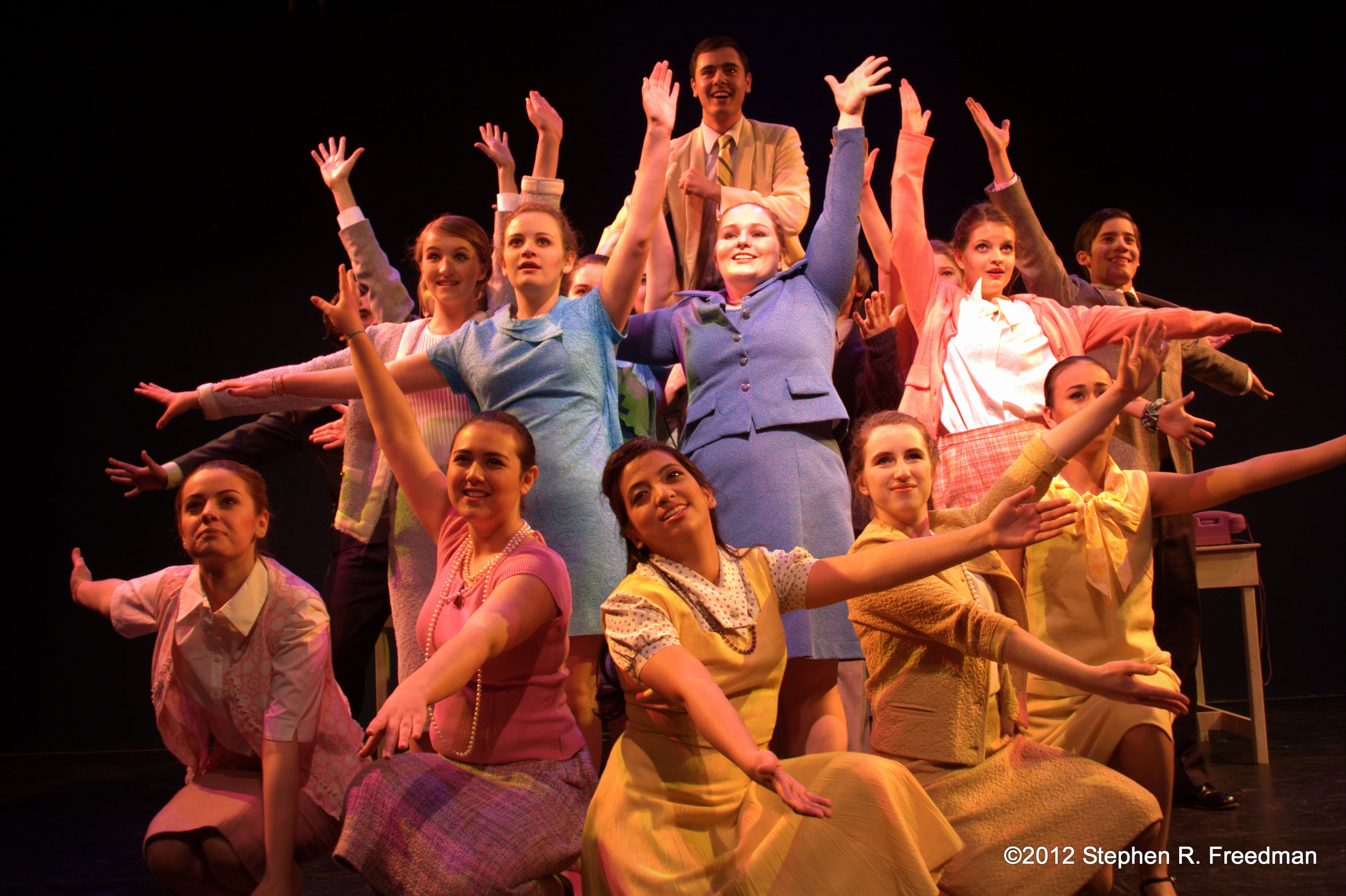 How To Succeed in Business (Without Really Trying) | Toronto Youth Theatre | 2012 | Photo by Stephen R. Freedman