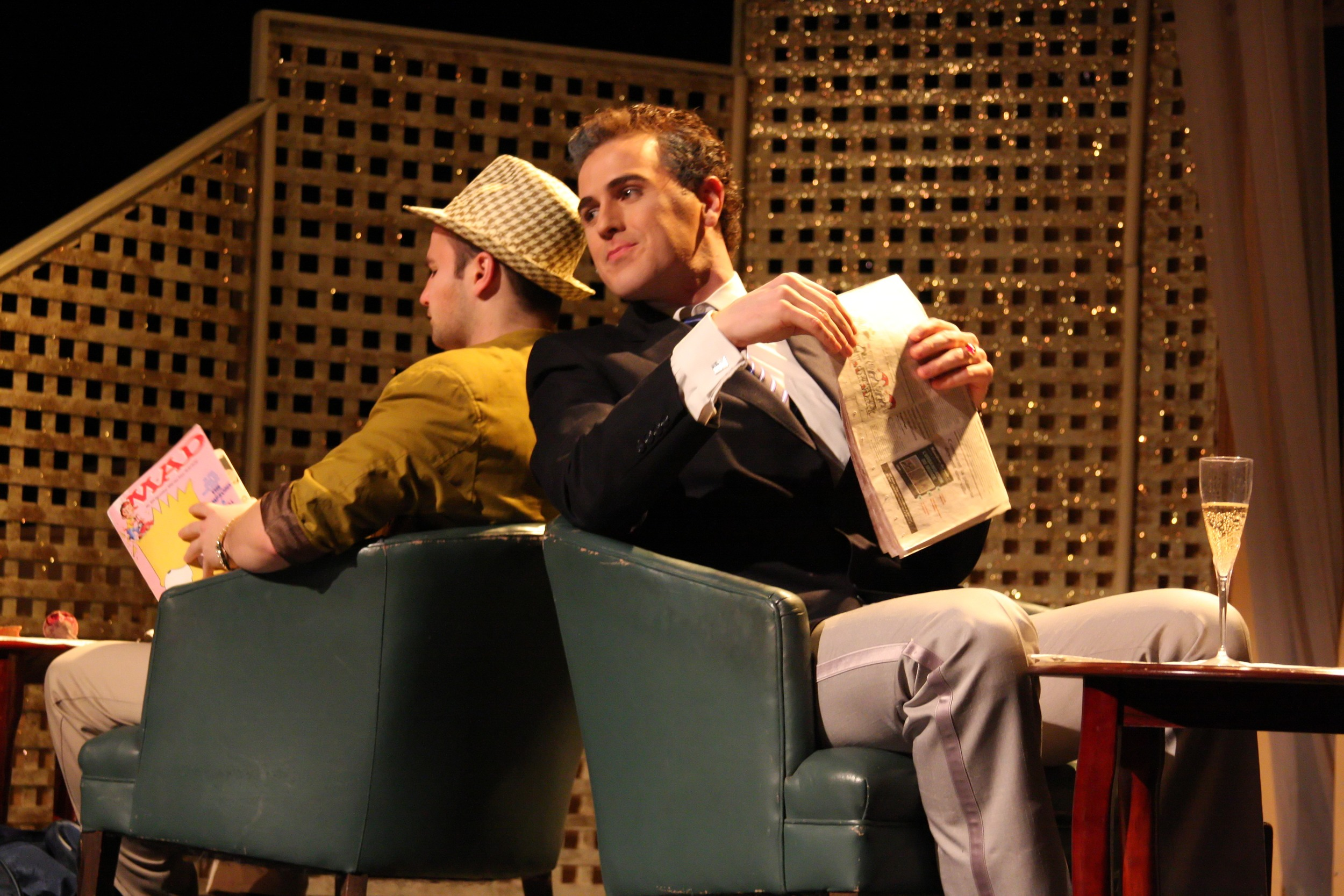 Dirty Rotten Scoundrels  | Hart House Theatre | 2011 | Photo by Daniel DiMarco