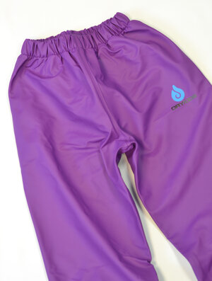 DRY KIDS Overtrousers Purple 11//12 yrs
