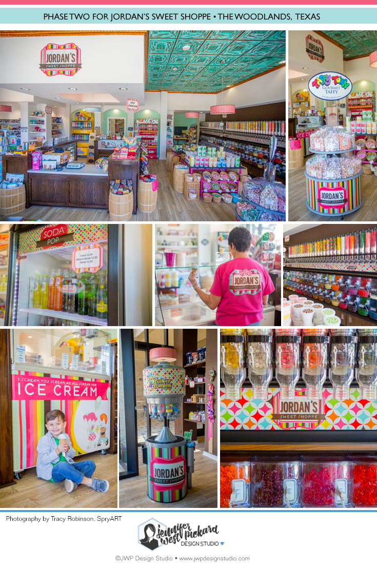 Jordan's Sweet Shoppe Phase Two Storefront