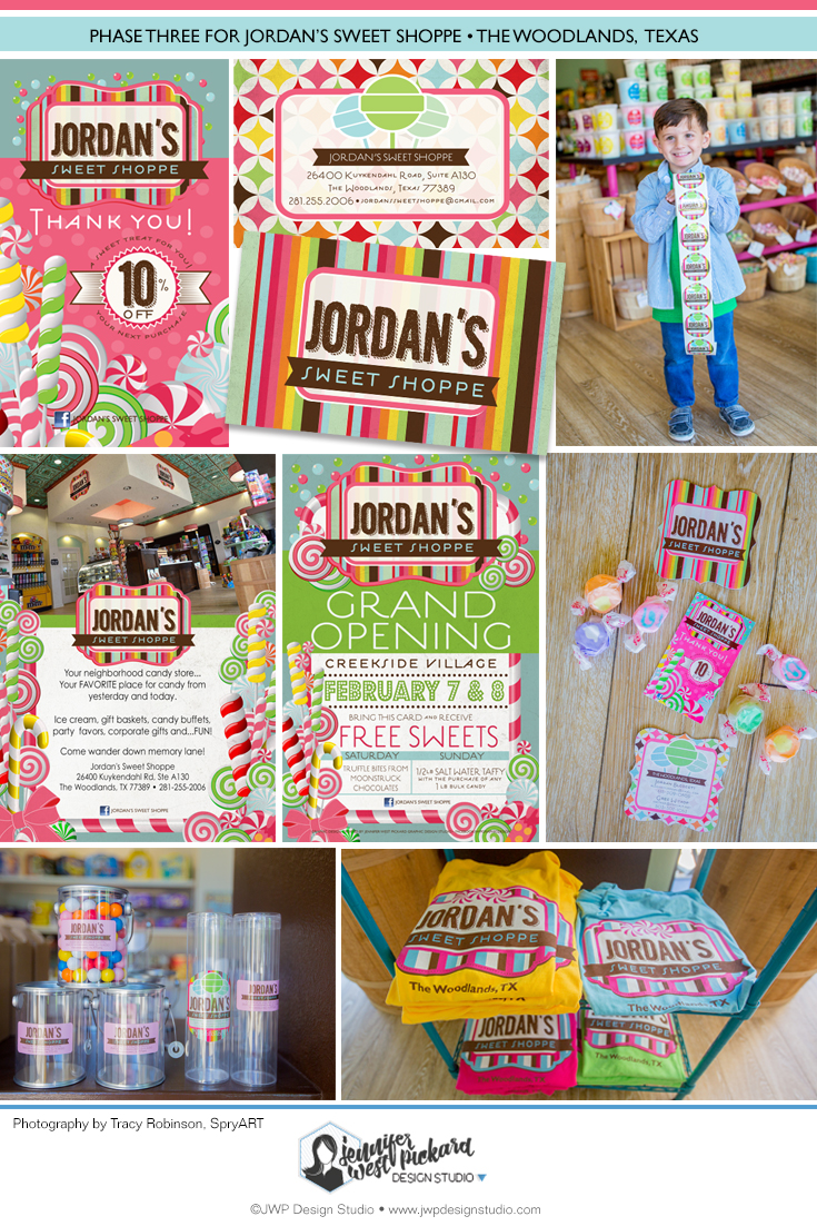 Jordan's Sweet Shoppe Phase Three