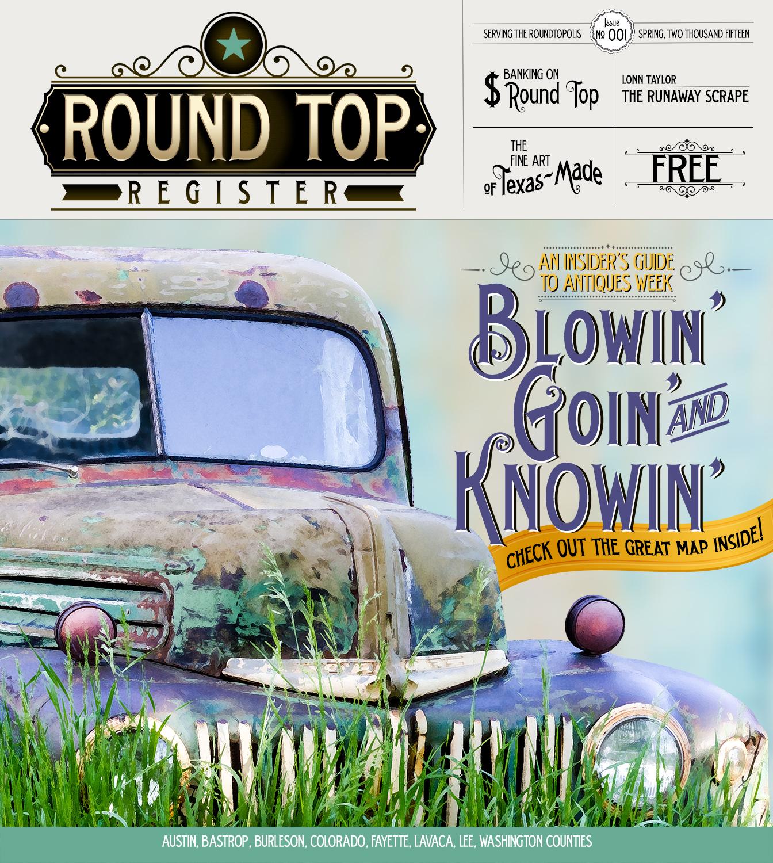 Round Top Register Issue 1