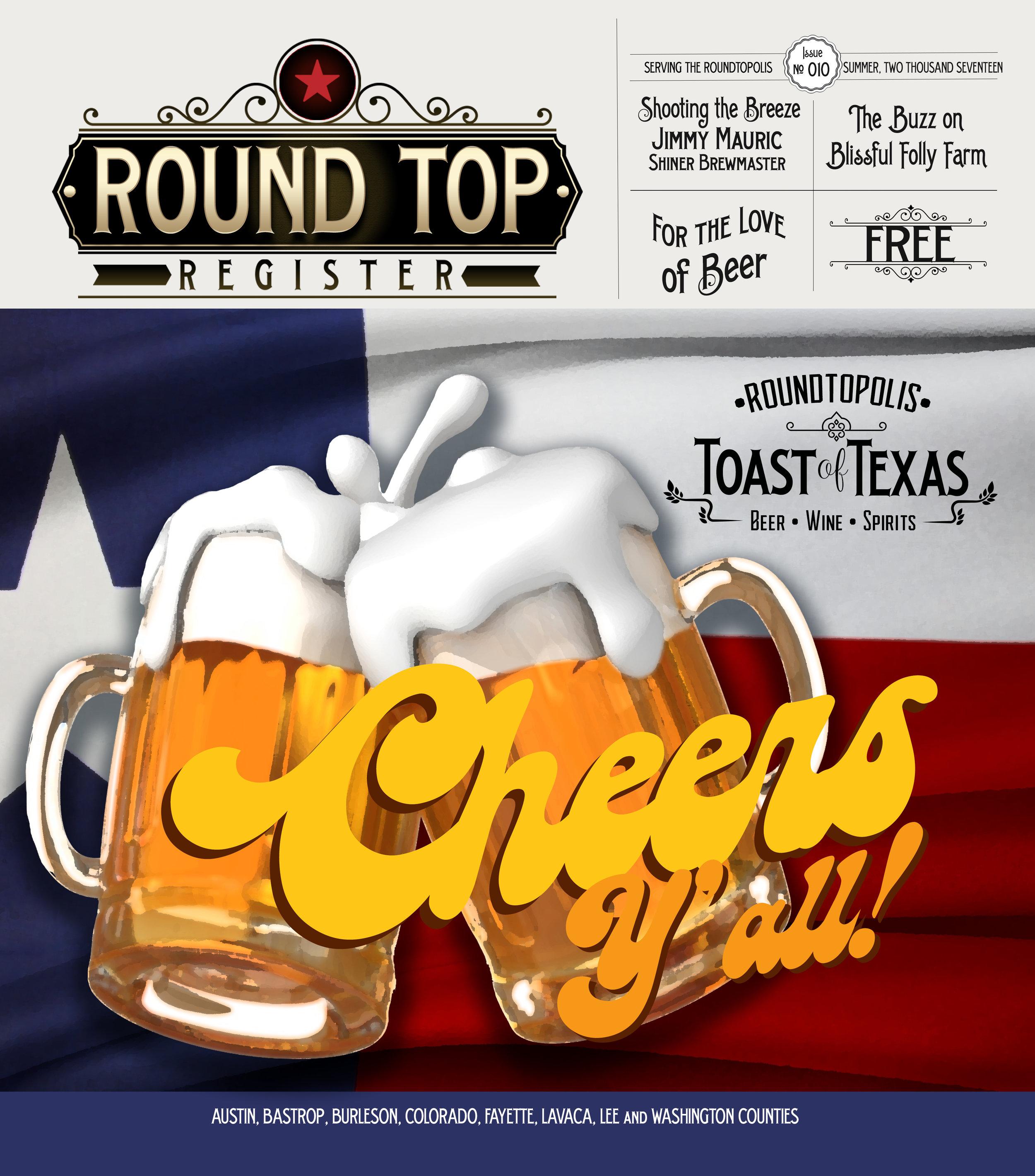 Round Top Register Issue 10 Magazine Layout
