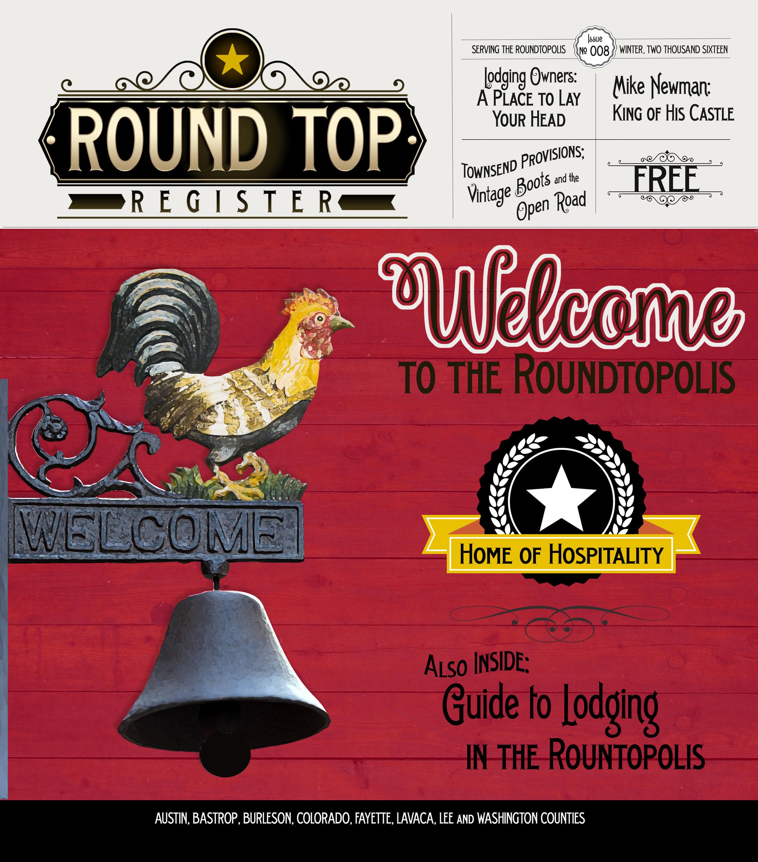 Round Top Register Issue 8