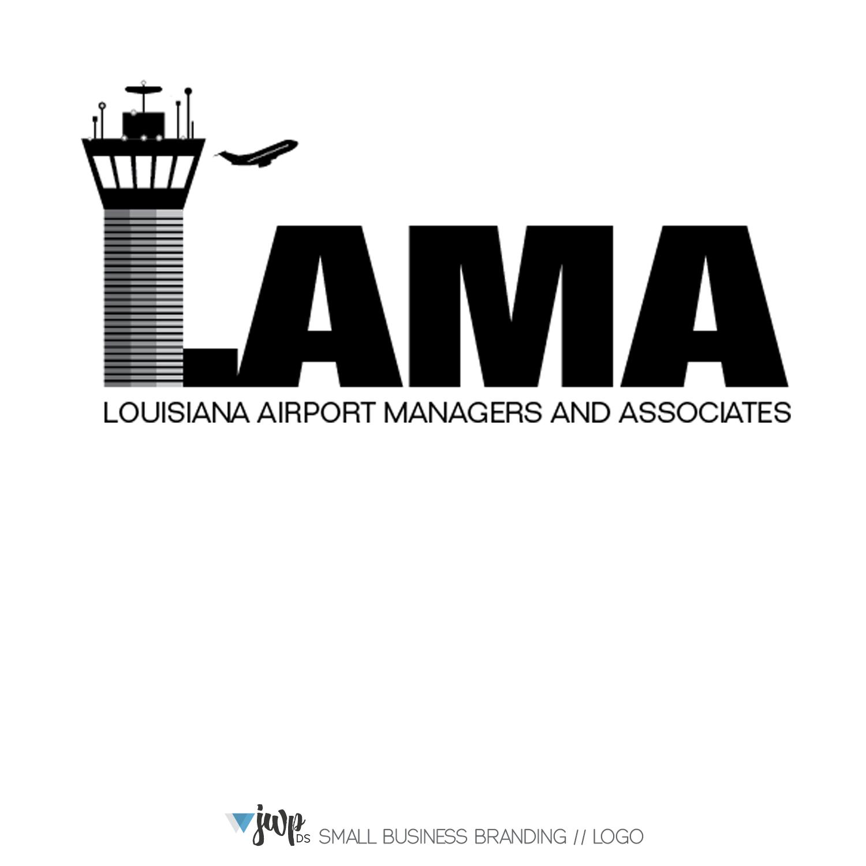 The Woodlands Graphic Design Logo LAMA